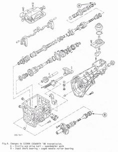 Ford Cosworth FVA Engine Cutaway drawing by Theo Page