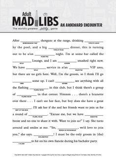 Gobble Gobble Mad Libs: Roger Price, Leonard Stern