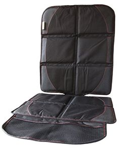 car seat protectorbest for protecting front back seatsleatherfabricvinyl or clothone size fits most carssuvsecure fit with