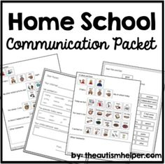 1000+ images about Daily Communication Sheets on Pinterest