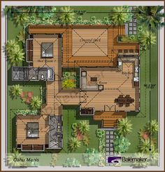 From Bali With Love Tropical House Plans From Bali With Love