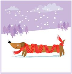 1000 winter illustration