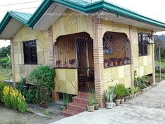 """Modern """"Bahay Kubo"""" Or Filipino Native Style House Simple Living"""