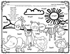 Reading Street 1st grade spelling words for the entire