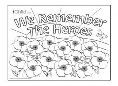 100% Free Remembrance Day Coloring Pages. Color in this