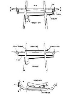 truck bridge kit, axle bracket, air bag mount, air