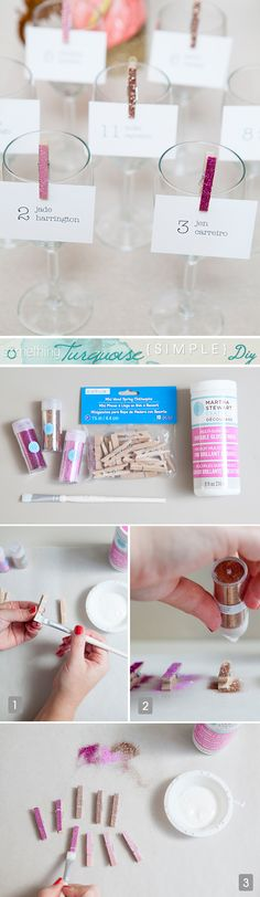 Simple Wedding DIY ~
