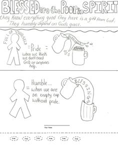Bible Worksheet