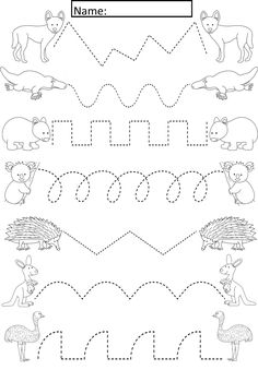 Download and print Turtle Diary's Trace Over the Line to