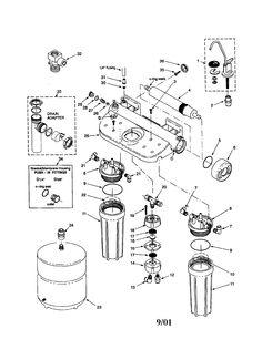 DISPENSER PARTS Diagram & Parts List for Model 79572053110