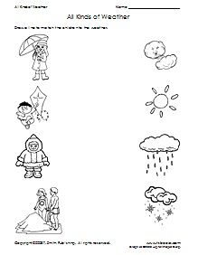 1000+ images about Weather Activities for Kids on