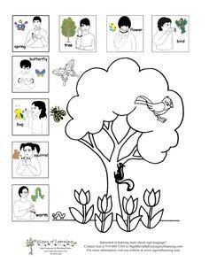 Free American Sign Language (ASL) Printable Cards or Sheet