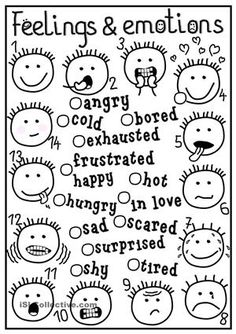 Worksheets, Self control and Worksheets for kids on Pinterest