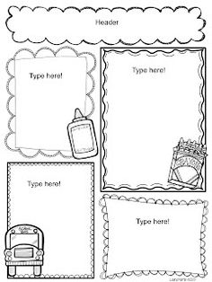 1000+ images about Daycare newsletters on Pinterest