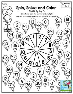 Easy, Low Prep Printable Multiplication Games! {FREE