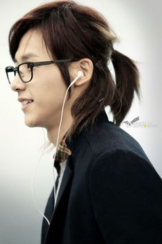 Japanese Hairstyles For Men With Long Hair Him Pinterest Men