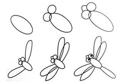 Learning how to draw a bee is quite easy using this simple