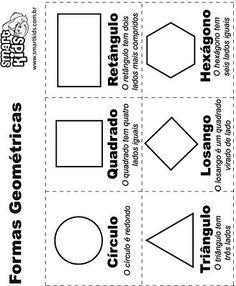 São 50 moldes diversos de sólidos geométricos para