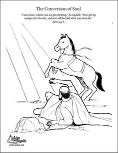 1000+ images about Bible: NT Saul's Conversion on