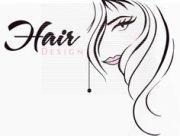 vintage hair shears clipart digi