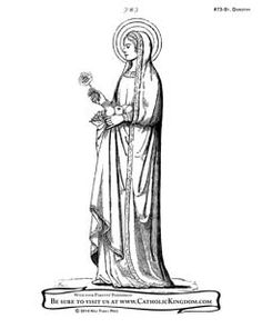 Saints Priscilla and Aquila coloring page: July 8th