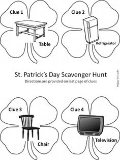 1000+ images about Scavenger Hunts on Pinterest