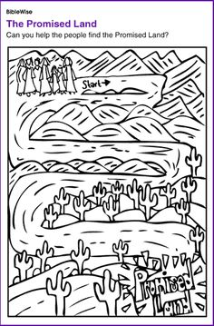 A maze activity sheet for kids from the story, Escape from