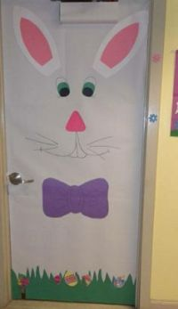School door decorations, School doors and Easter on Pinterest