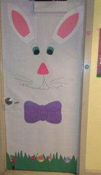 School door decorations, School doors and Easter on Pinterest