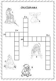 crosswords for kids (crucigrama para niños) para no