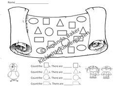 1000+ images about Math Kindergarten ~ Shapes on Pinterest