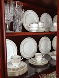 1000 Ideas About China Cabinet Display On Pinterest