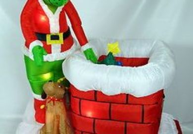 Inflatable Christmas Decorations Kmart
