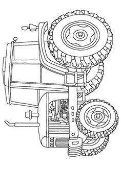 Trattore David Brown Selectamatic 990 da stampare e