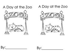 Zoos, Number words and Fun poems on Pinterest