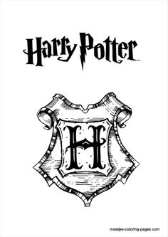 Harry Potter Malvorlagen Harry Potter Pinterest