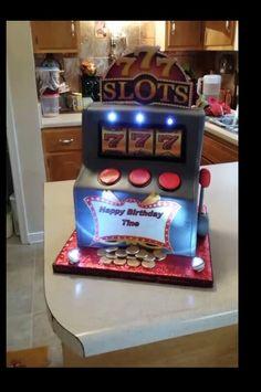 1000 Images About Vegasslot Machine Cake On Pinterest