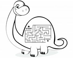 Connect the dots activity sheets: Connect the dots Dino