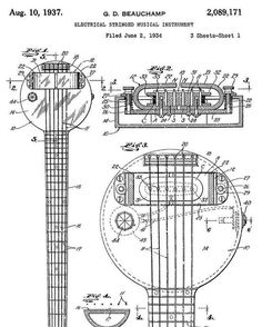 1000+ images about Who Invented the Electric Guitar? on