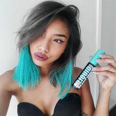 chalking hair on pinterest chalk hair colors hair chalk and hair
