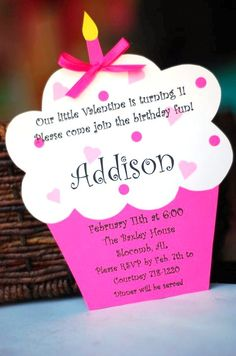 Cupcake Invitations On Pinterest Cupcake Invitations
