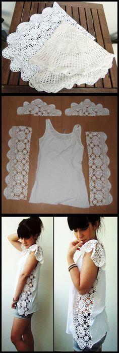 DIY Crochet Doily or