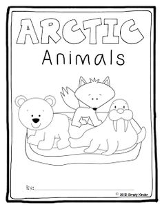 arctic animals matching upper and lower case letters
