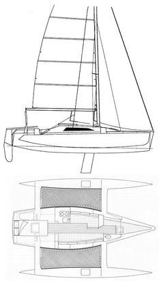 Seaclipper 24 Trimaran Micro-Cruiser Plans Ready-to-Go