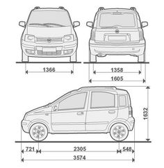 1000+ images about Prezzi e dimensioni Auto on Pinterest