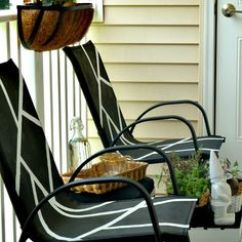 Redo Sling Patio Chairs Overstuffed Chair And Ottoman Set Diy Furniture Repair Replacement Slings, Outdoor Cushions, Vinyl Strapping, ...