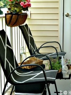 redo sling patio chairs chair covers for wedding reception diy furniture repair replacement slings, outdoor cushions, vinyl strapping, ...