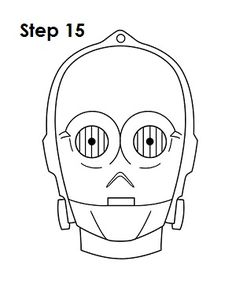 Star Wars color page, cartoon characters coloring pages