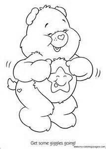 Care Bears sunshine bear Coloring printable page