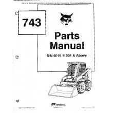 Bobcat 463 Loader Service Manual Download 519911+